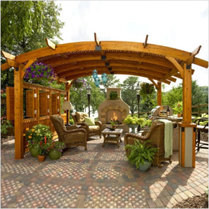Cedar Patio Covers Pergolas Wood Pergola Kits Cover